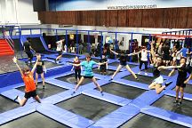 Bounce in to Amped Trampoline Park